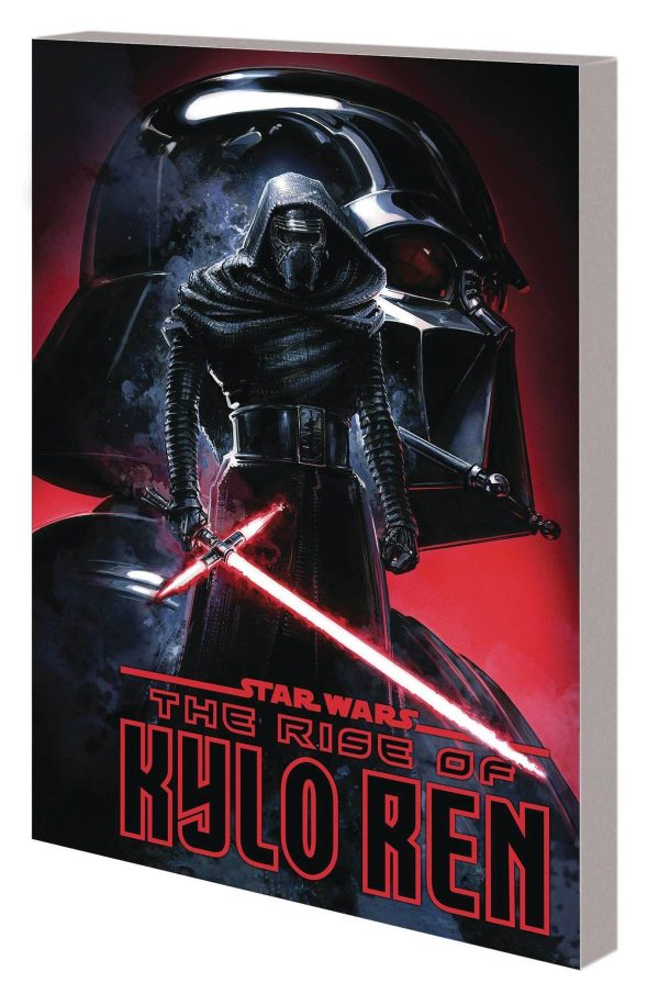 Cover of the Graphic Novel, The Rise of Kylo Ren